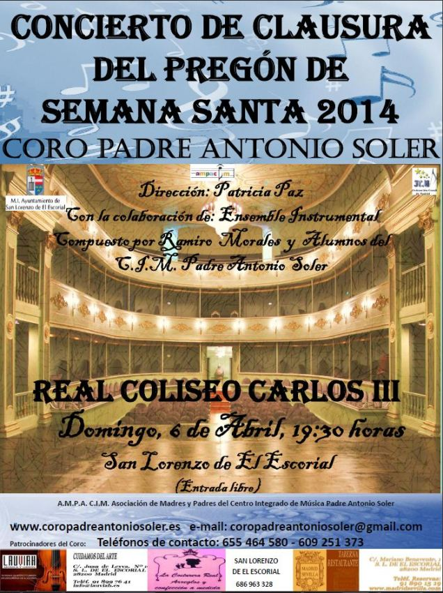 CARTEL REAL COLISEO 06-04-14